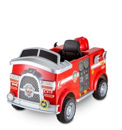 paw patrol fire truck 6 volt powered ride on toy by kid trax marshall rescue walmart com [ 3693 x 3934 Pixel ]