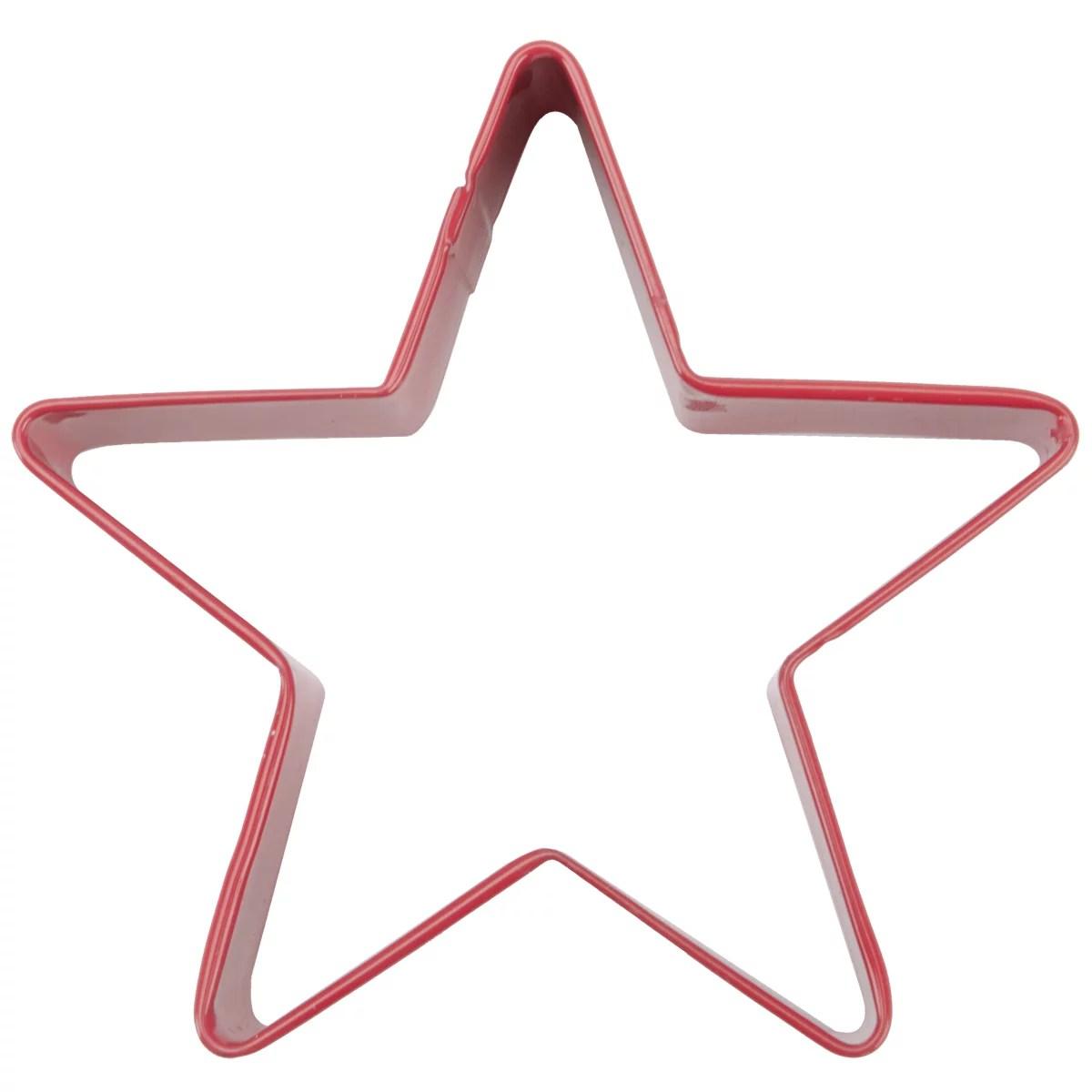 Metal Cookie Cutter 3 InchRedStar  Walmartcom