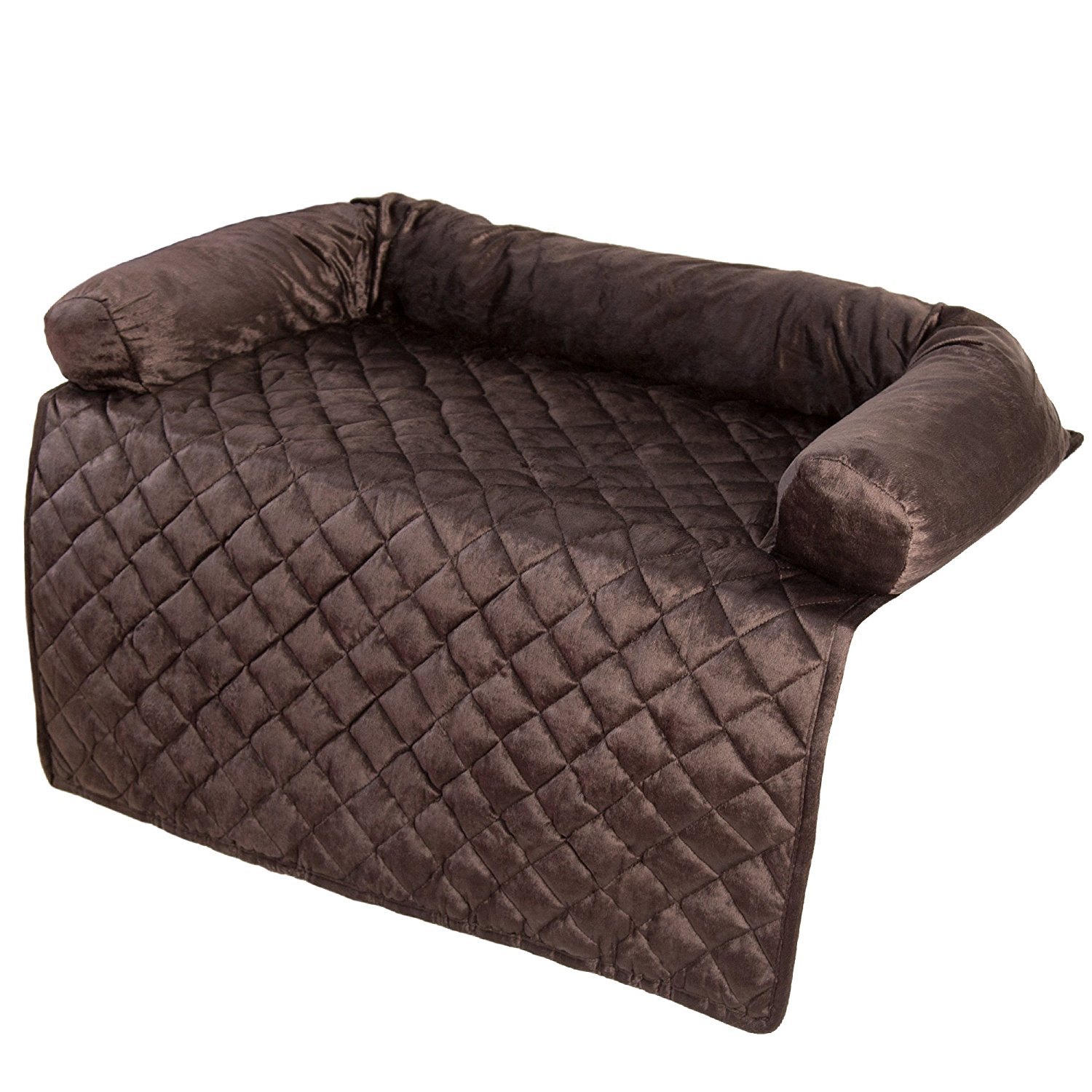 clean leather sofa with damp cloth catnapper reclining sofas furniture protector pet cover bolster brown 35 x care
