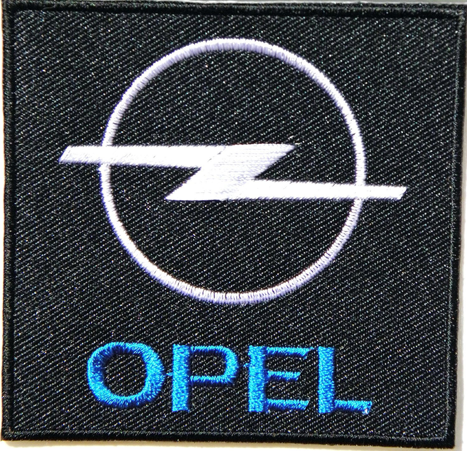 hight resolution of opel logo sign car racing patch 3 logo sew ironed on badge embroidery applique patch walmart com