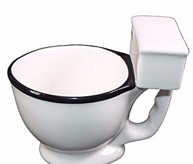 Xxxxx White Ceramic Porcelain Toilet Bowl Coffee Mug Funny Joke Gag Prank Gift Walmart Com