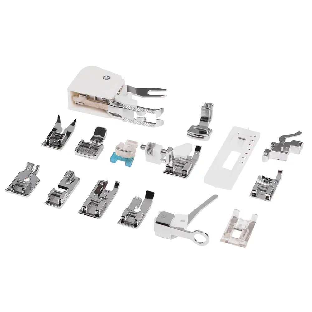15Pcs Presser Foot for Brother Janome Singer