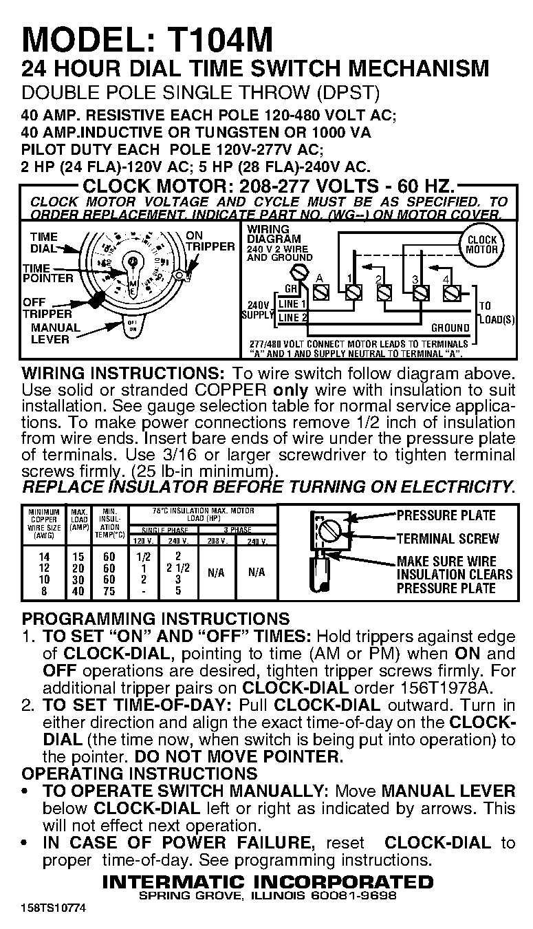hight resolution of time clock wiring schematic