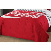 Coca-Cola Twin-Full Comforter Pillow Sham Set Enjoy Coke ...