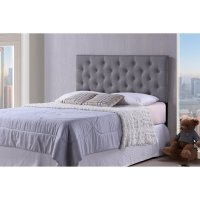 Product Image Baxton Studio Viviana Modern And Contemporary Faux Leather Upholstered Button Tufted Full Size Headboard
