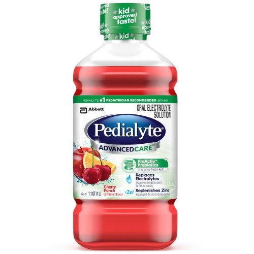 Pedialyte Advanced Care Oral Electrolyte Solution ...