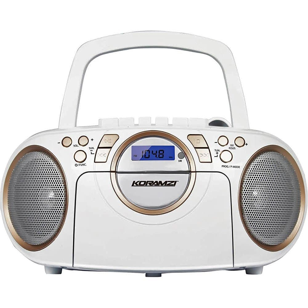 portable cd boombox stereo