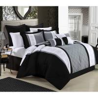 Chic Home Arlington 12-Piece Bed in a Bag Comforter Set ...