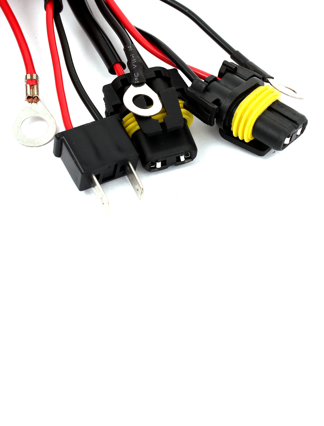 hight resolution of h7 xenon hid conversion kit relay wiring harness wire upgrade pack for car walmart canada