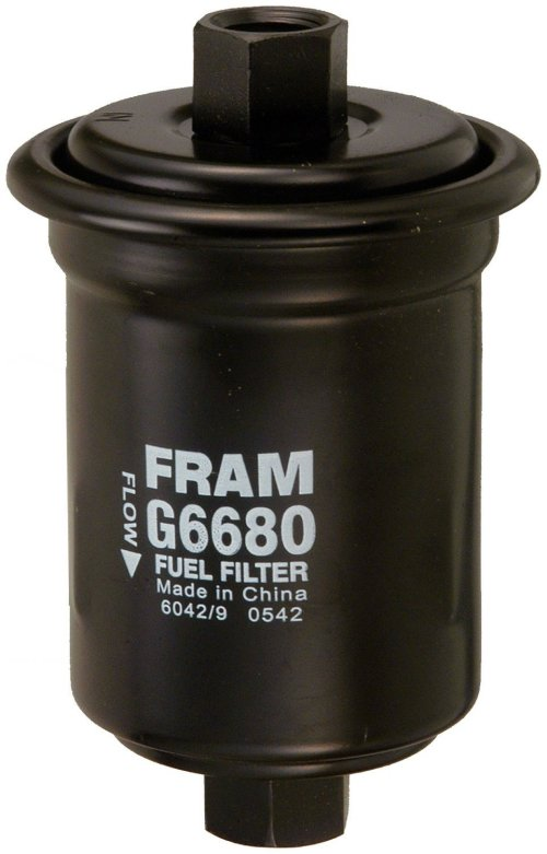 small resolution of g6680 in line fuel filterchanging the fuel filter will also improve the engines performance by fram walmart com