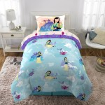 Disney S Mulan Twin Bed In A Bag Bedding Set W Reversible Comforter Decorative Pillow And Bonus Tote Walmart Com Walmart Com