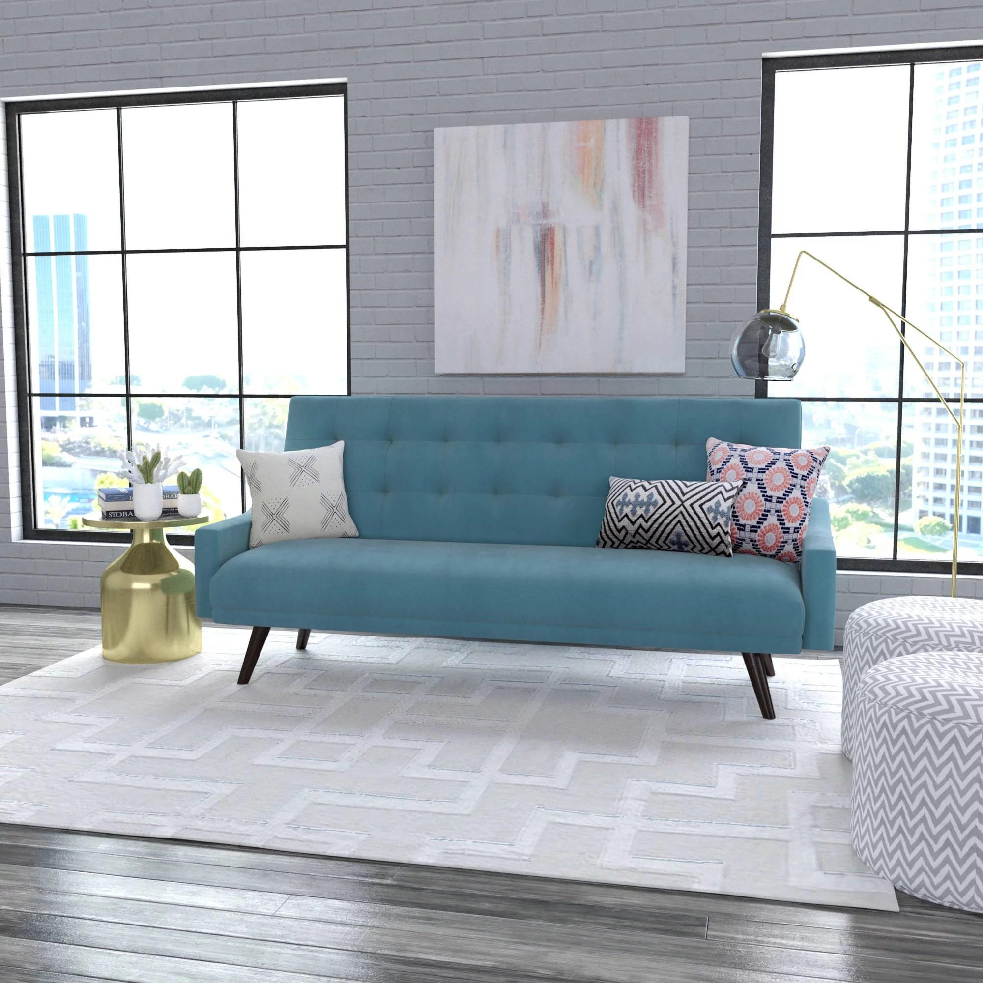 Oakland Futon Sofa Bed Multiple Colors  Walmartcom