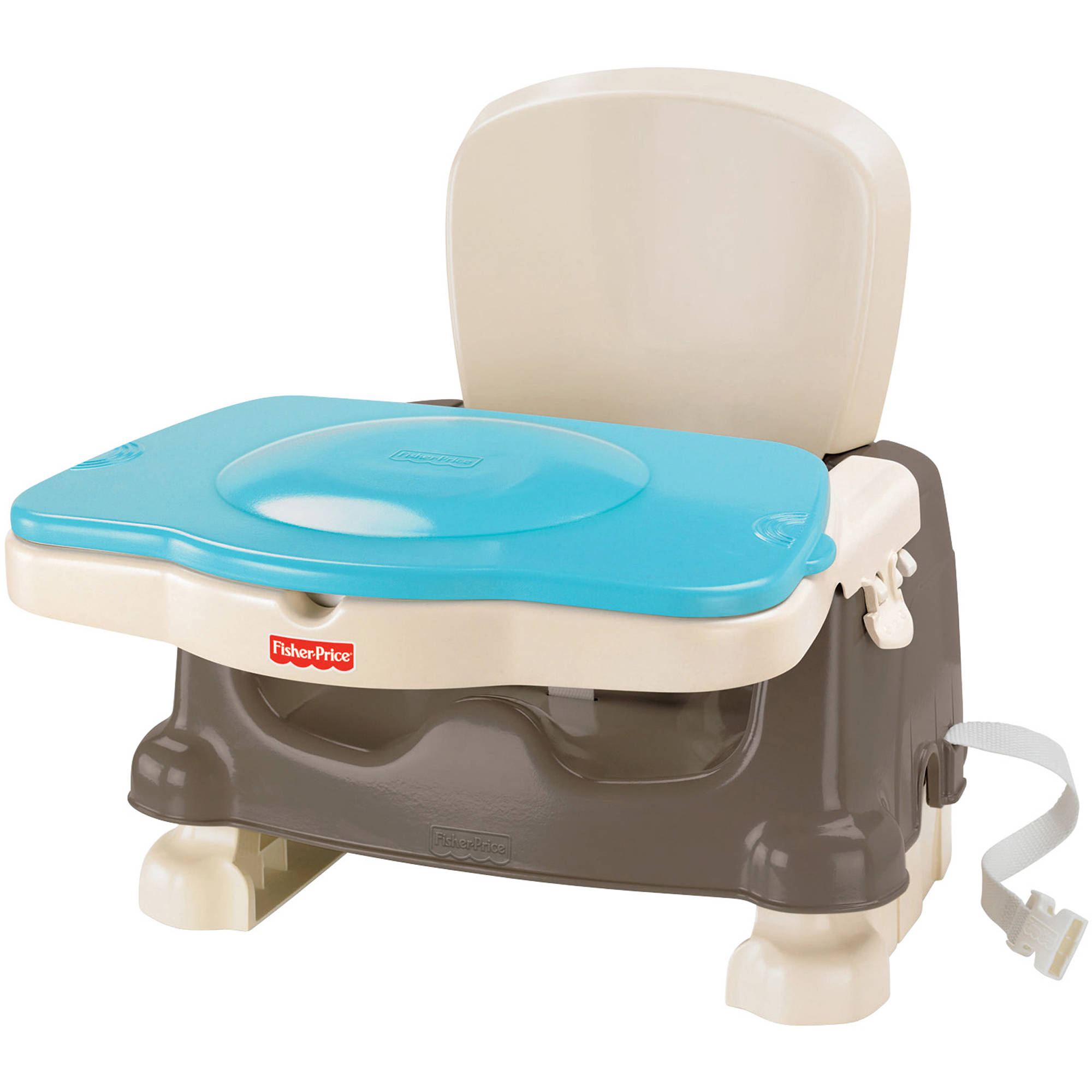 Booster High Chair Seat Fisher Price Healthy Care Deluxe Booster Seat Brown