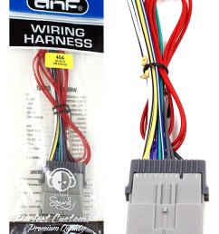 dnf wiring harness for aftermarket radios stereos cd players for select chevrolet pontiac vehicles 70 2103 100 copper wires  [ 1009 x 1500 Pixel ]