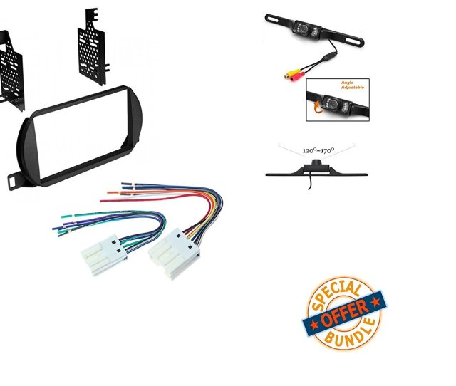 Nissan Altima  Car Stereo Radio Cd Player Receiver Install Mounting Kit Wire Harness