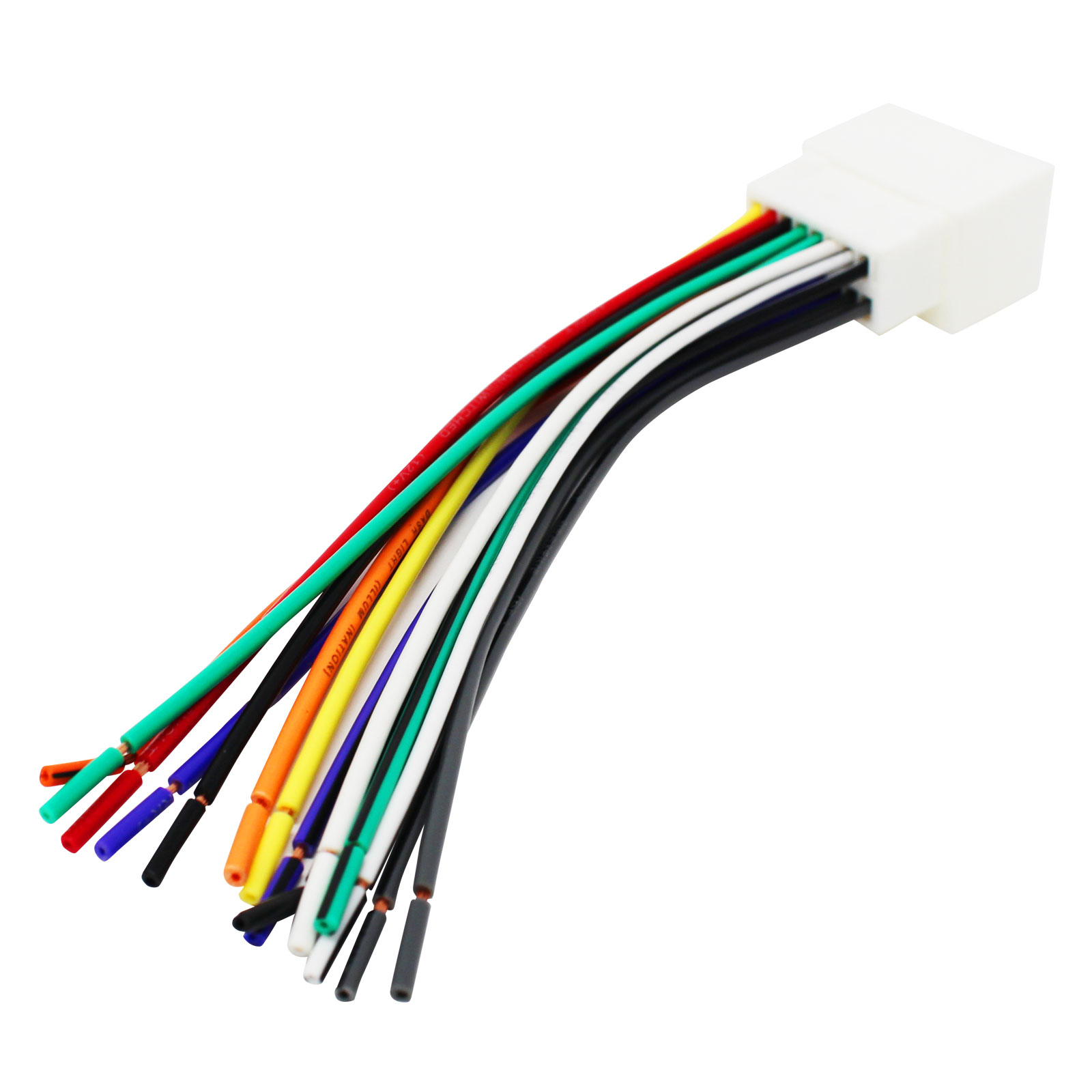 hight resolution of replacement radio wiring harness for 2004 ford f 150 heritage 2004 ford f 250 super duty 2004 ford f 350 super duty 2004 ford f 450 super duty