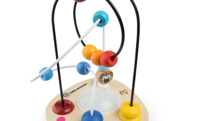 Baby Einstein Color Mixer Wooden Bead Maze Toddler Toy