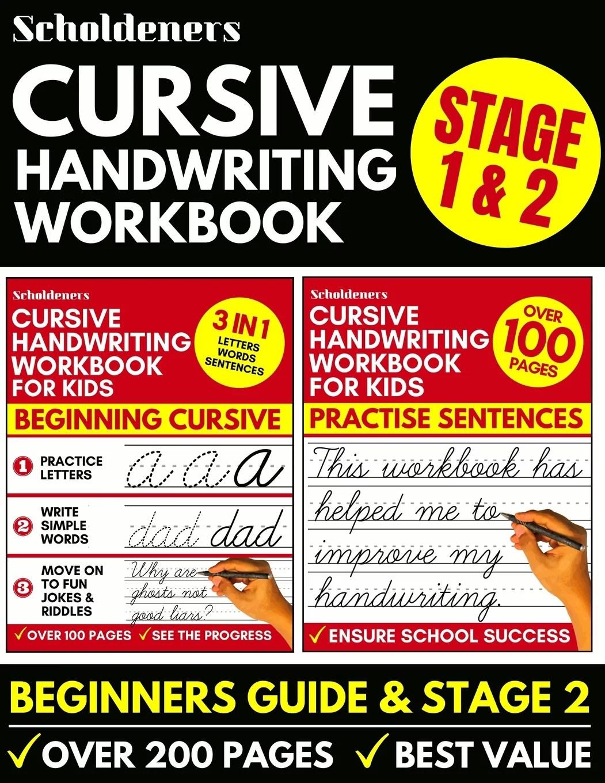 Cursive Handwriting Workbook Cursive Writing Practice