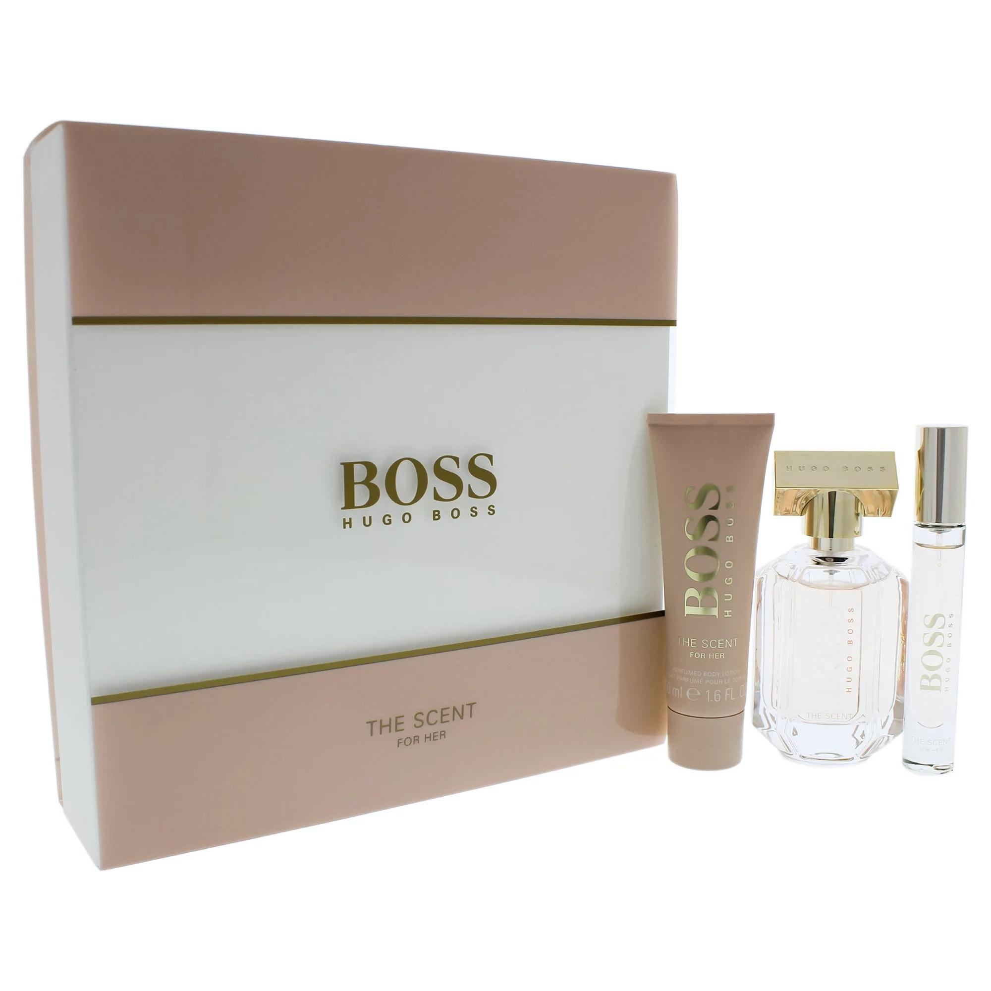 Boss The Scent By Hugo Boss For Women 3 Pc Gift Set 1