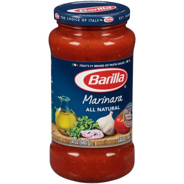 Barilla Pasta Sauce Nutrition Label Nutrition Ftempo