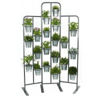 Tall Metal Plant Planter Stand 20 Tiers Display Plants ...