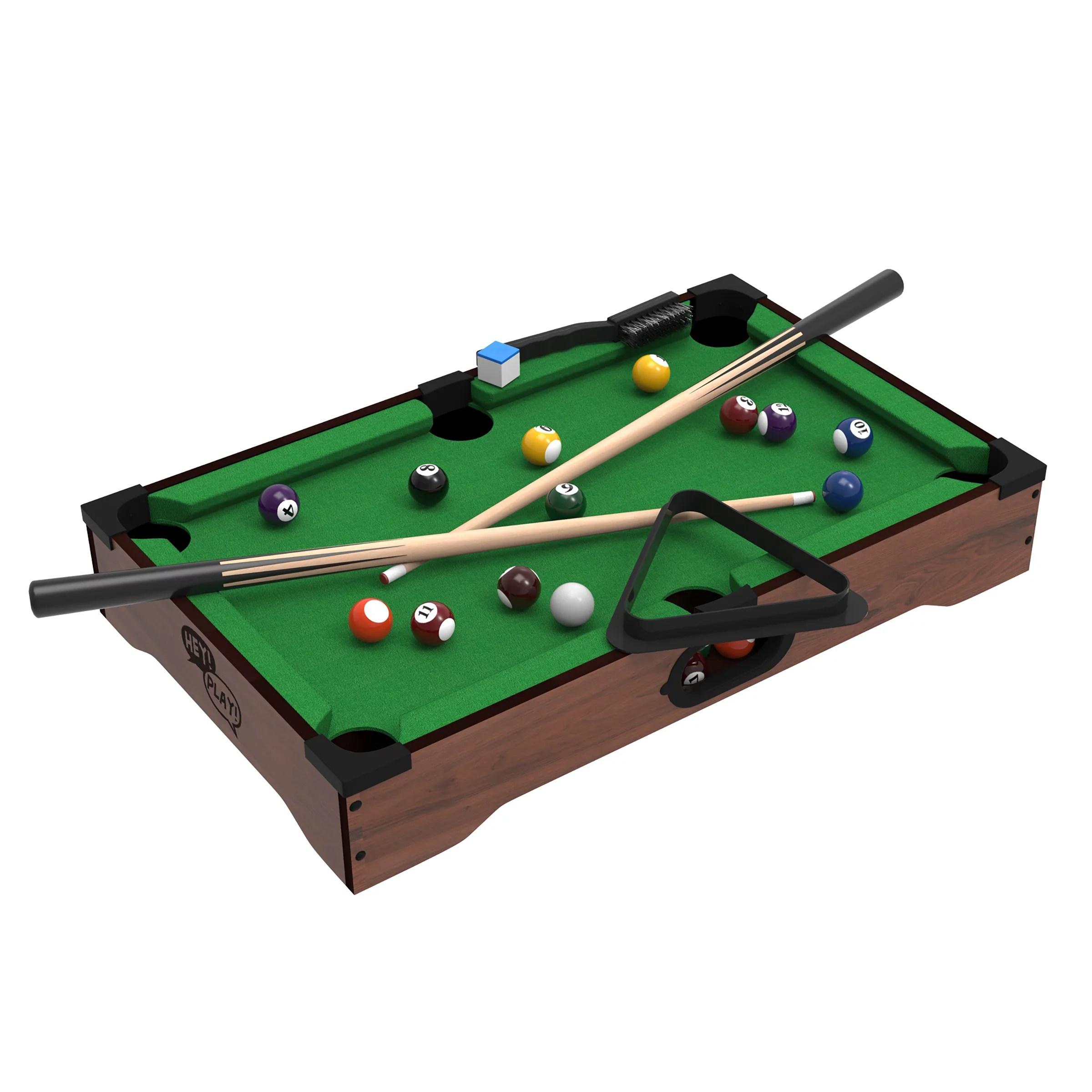 Trademark Games Mini Table Top Foosball Pool Table