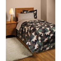 Camouflage Bed in a Bag Bedding Set - Walmart.com