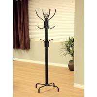 Home Craft Metal Coat Rack, Black - Walmart.com