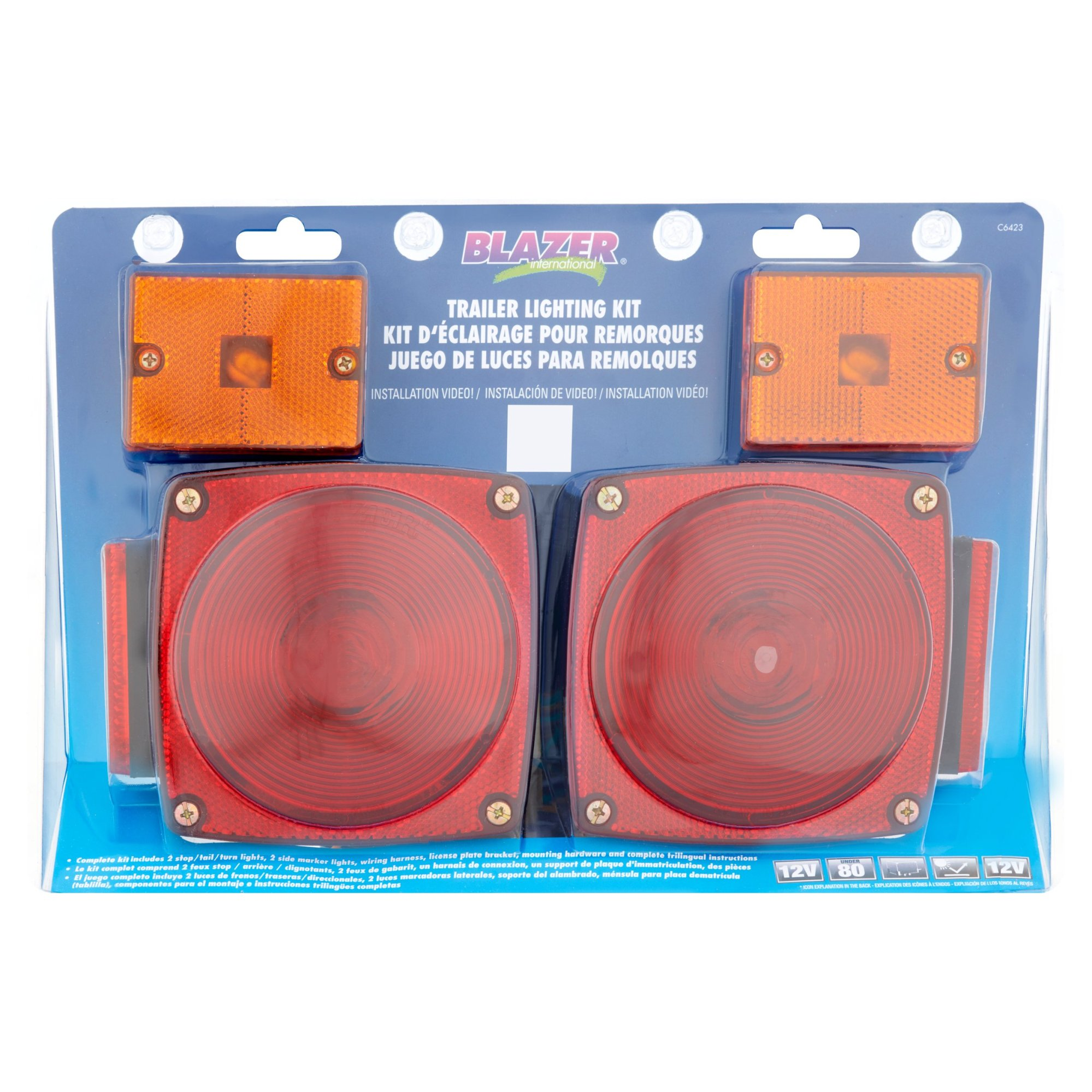 hight resolution of blazer international trailer lighting kit