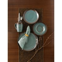 Hometrends Dinnerware Lagoon 16pc Set - Walmart.com