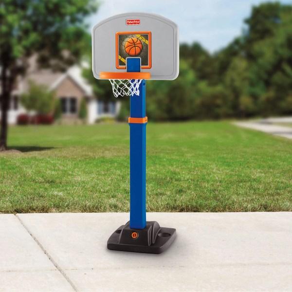 Little Tikes Adjust ' Jam Basketball Set