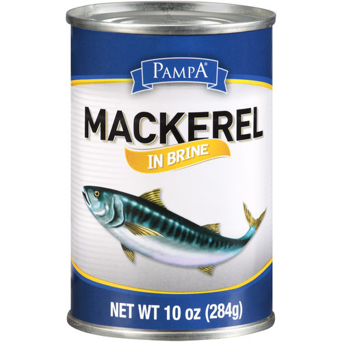 Pampa Mackerel in Brine 10 oz - Walmart.com
