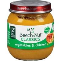 Beech Nut Beech Nut Naturals Vegetables & Chicken, 4 oz ...
