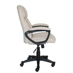 Office Chair Quality Power Lifts Serta Executive In Velvet Gray Microfiber Black Base Walmart Com