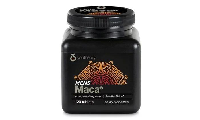 YOUTHEORY Men's Maca Root 120 CT - Walmart.com