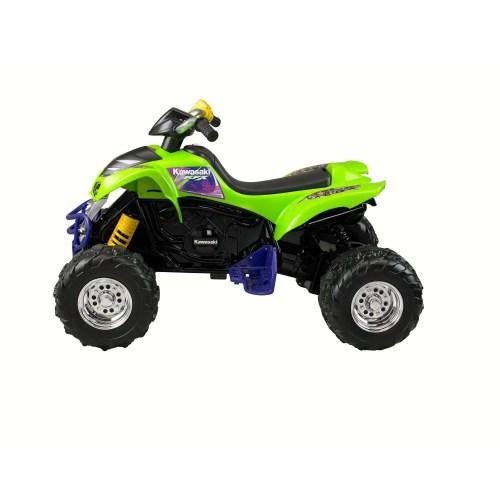 small resolution of power wheels kawasaki kfx green ride on atv for kids 3 7 years walmart com