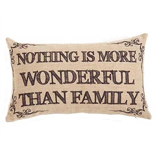 12 Inch Family Pillow Decorative Pillow By KK Interiors  Walmartcom