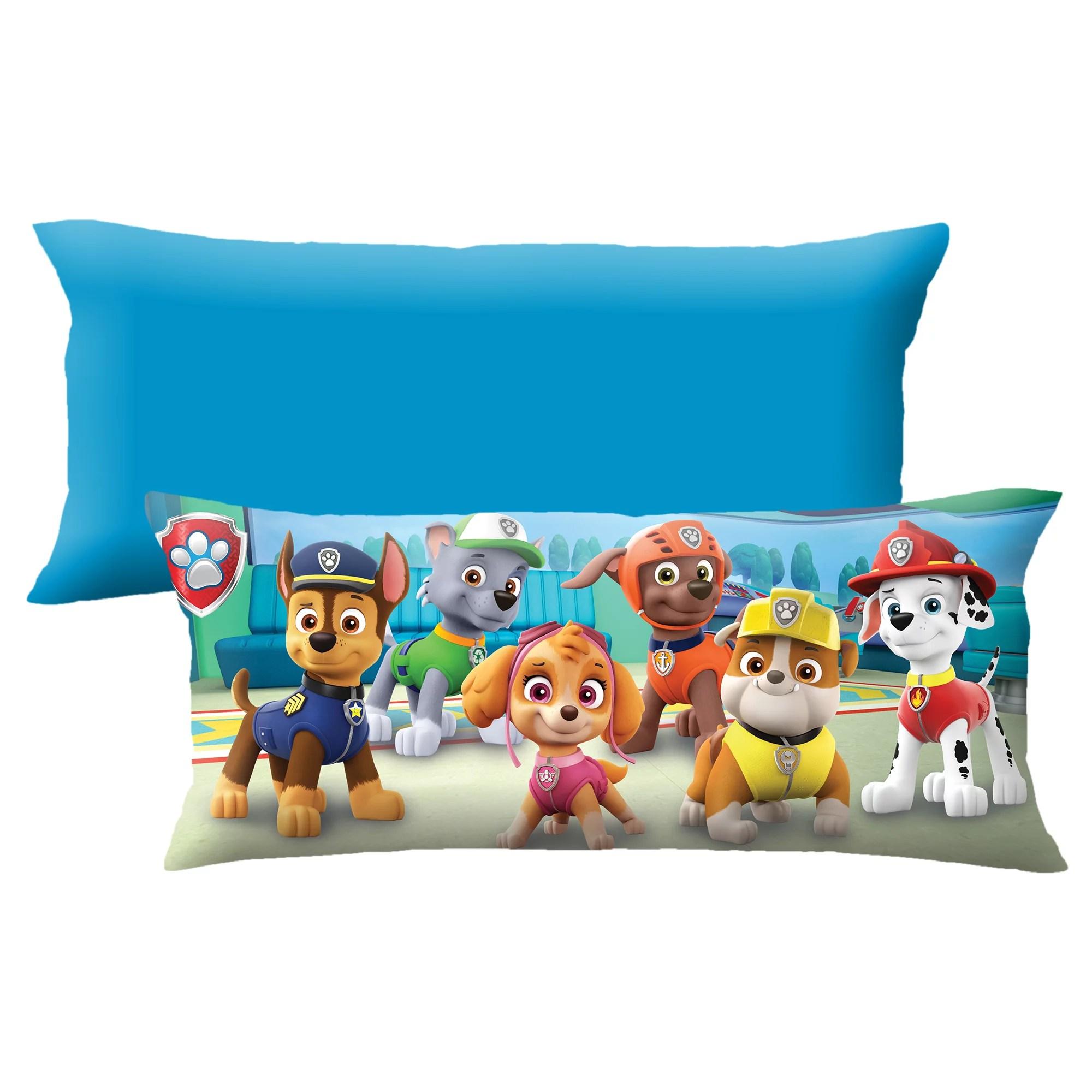 paw patrol extra large body pillow soft plush microfiber 4 feet long walmart com
