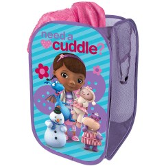 Doc Mcstuffins Upholstered Chair Uk Parson Covers Bed Bath And Beyond Disney Square Collapsible Storage Pop Up