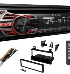 pioneer ford cd car stereo radio kit dash installation mounting with wiring harness walmart com [ 1500 x 1159 Pixel ]