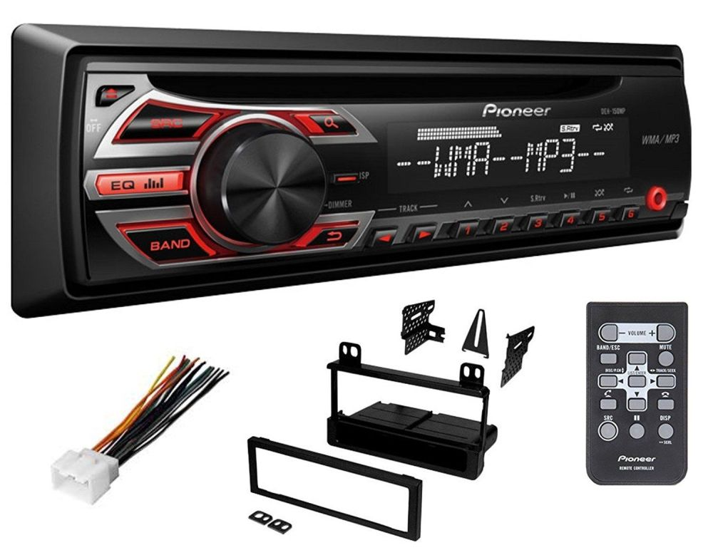 medium resolution of pioneer ford cd car stereo radio kit dash installation mounting with wiring harness walmart com