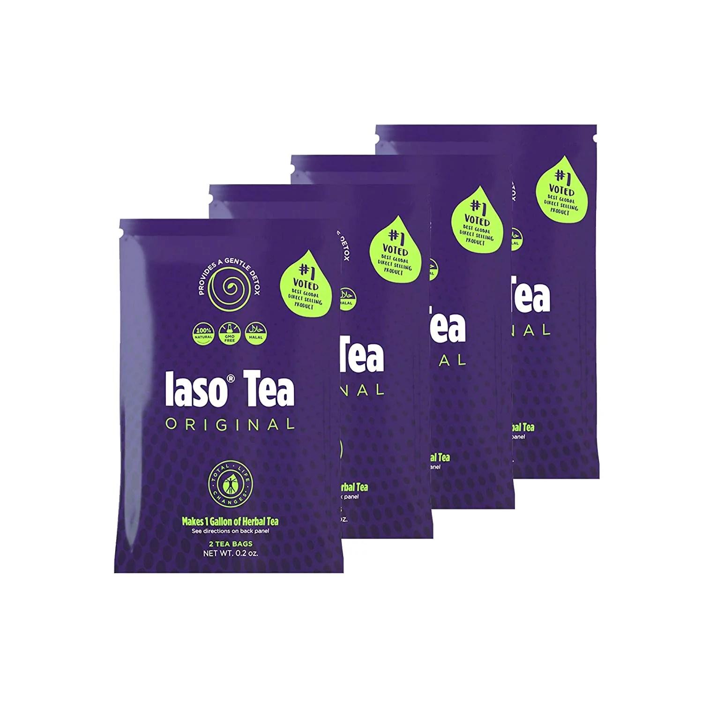 TLC Total Life Changes IASO Natural Herbal Detox Tea Bags ...