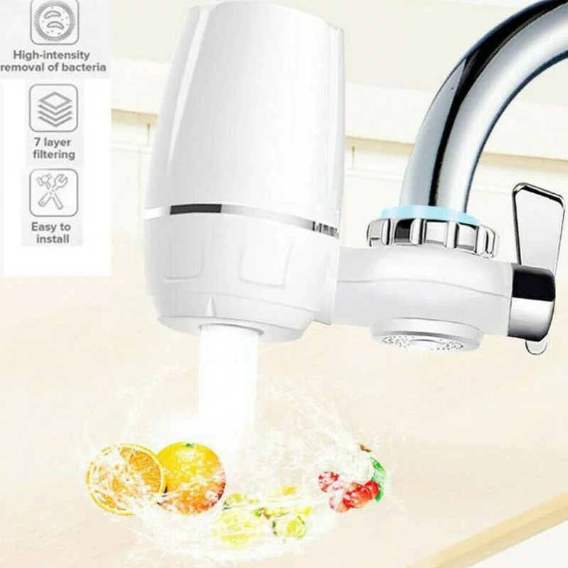 water purifier 7 layer home kitchen sink bathroom faucet water purifier tap mount clean filter home available complete tap water faucet filtration