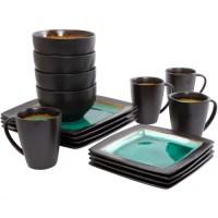 Gibson Everyday Ocean Oasis 32-Piece Dinnerware Set ...