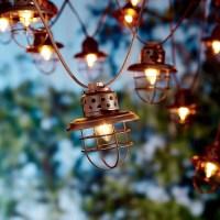Japanese Lantern String Lights. Cool Low Voltage Paper ...