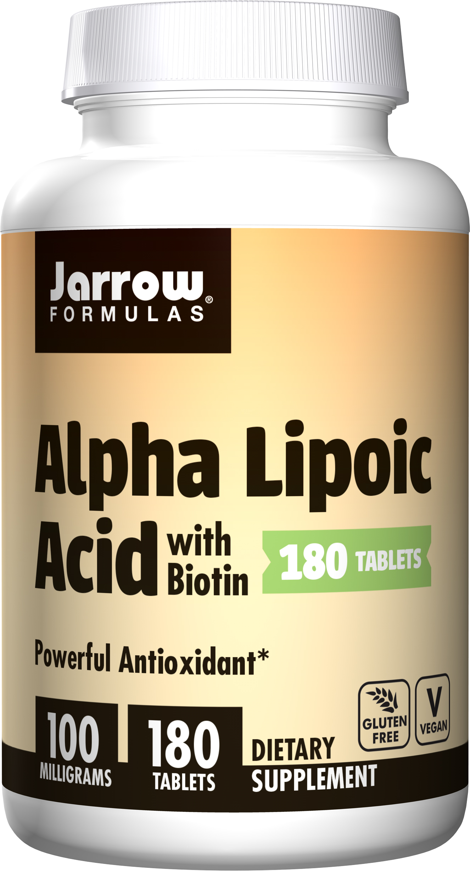 Jarrow Formulas Alpha Lipoic Acid Supports Energy Vision ...