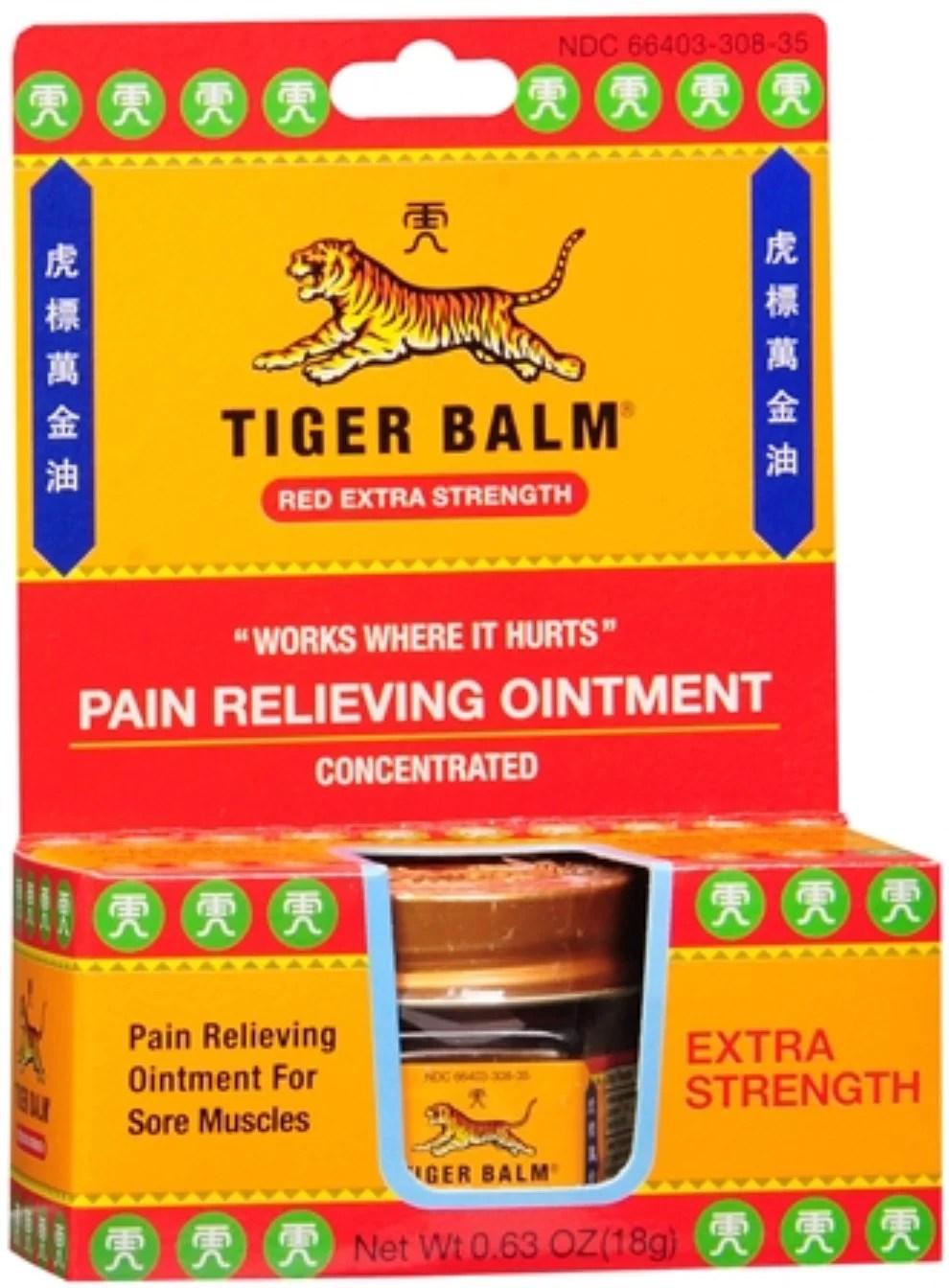 Tiger Balm Extra Strength 0.63 oz - Walmart.com
