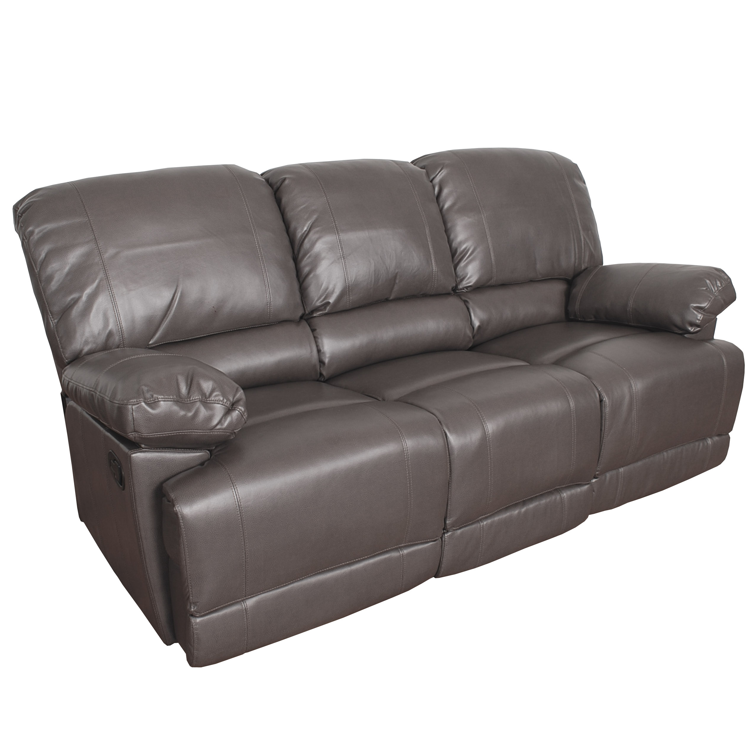 angus bonded leather reclining sofa top brands in india 2017 corliving walmart