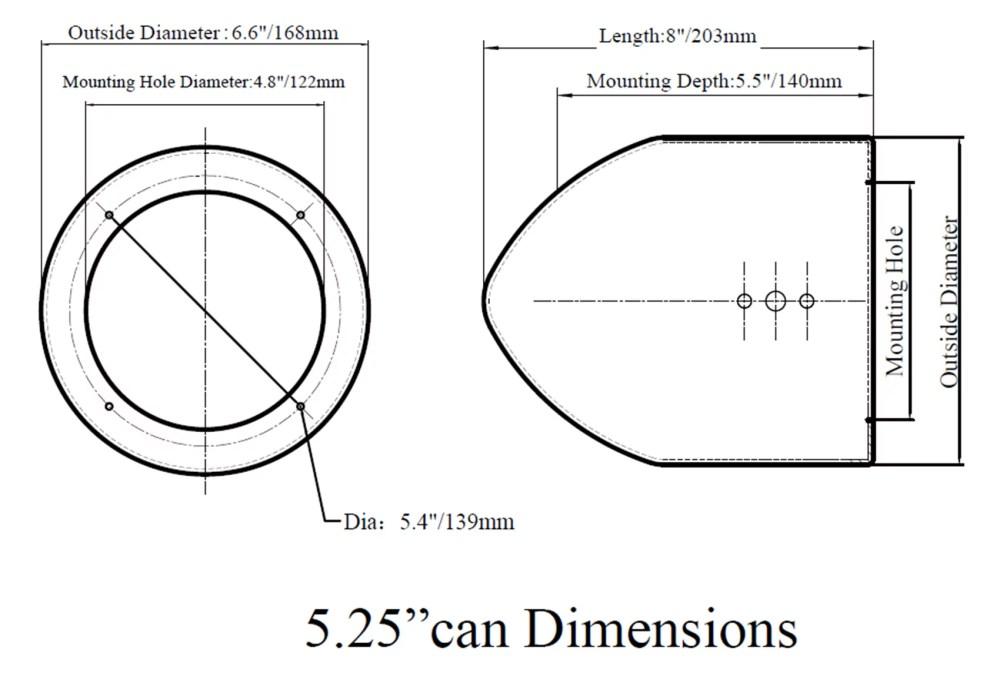 medium resolution of  2 rockford fosgate 5 25 tower speakers 2 ch amp bluetooth polaris rzr atv utv walmart com