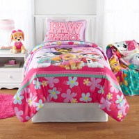 Paw Patrol Girl 'Best Pup' Reversible Twin/Full Comforter ...